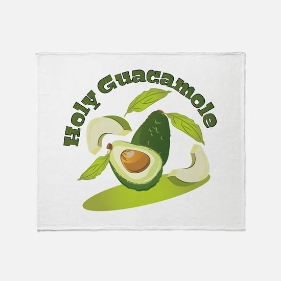 Holy Guacamole Throw Blanket