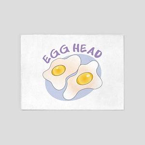 Egg Head 5'x7'Area Rug