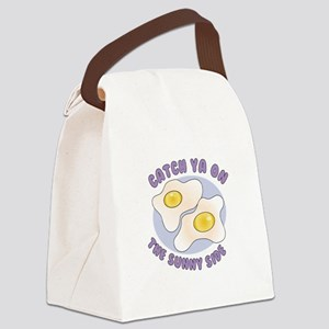 Sunny Side Canvas Lunch Bag