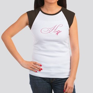 Hope - Pink Ribbon Brea Women's Cap Sleeve T-Shirt
