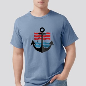 Nautical Anchor Trendy Summer Design T-Shirt