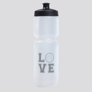 Love Volleyball Sports Bottle
