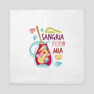 Sangria Per Mia Queen Duvet