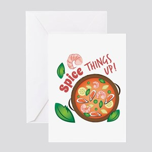 Spice Up Greeting Cards