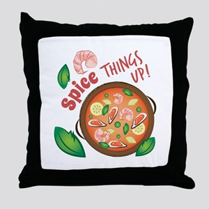 Spice Up Throw Pillow