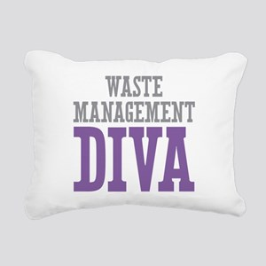Waste Management DIVA Rectangular Canvas Pillow