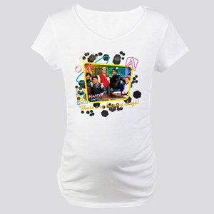 These are Happy Days Maternity T-Shirt