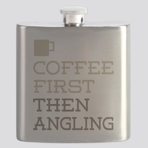 Coffee Then Angling Flask