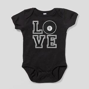 Love Pool / Billiards Baby Bodysuit