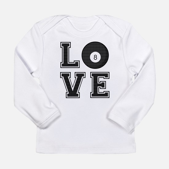 Love Pool / Billiards Long Sleeve Infant T-Shirt