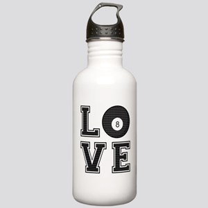 Love Pool / Billiards Stainless Water Bottle 1.0L