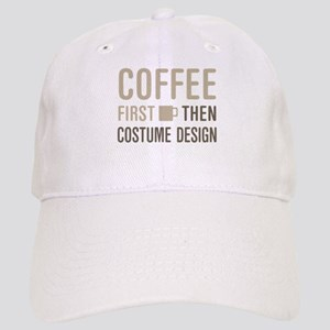 Coffee Then Costume Design Cap