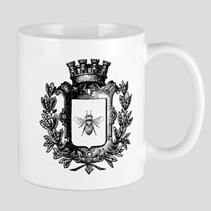 French Bee Crest Mug Mugs