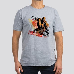 Luke Cage Fierce Men's Fitted T-Shirt (dark)