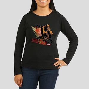 Luke Cage Fierce Women's Long Sleeve Dark T-Shirt