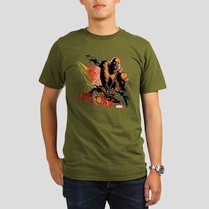 Luke Cage Fierce Organic Men's T-Shirt (dark)