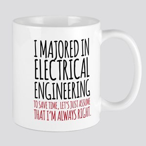 Electrical Engineer Major Mugs