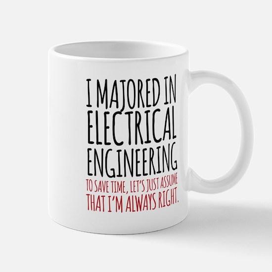 Electrical Engineer Major Mugs