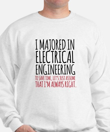 Electrical Engineer Major Sweatshirt