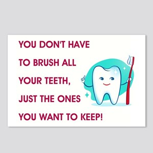 BRUSH YOUR TEETH Postcards (Package of 8)