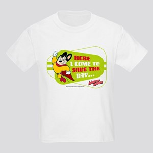 Mighty Mouse: Save The Day Kids Light T-Shirt