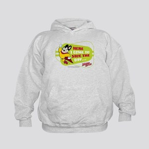 Mighty Mouse: Save The Day Kids Hoodie