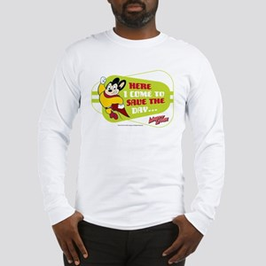 Mighty Mouse: Save The Day Long Sleeve T-Shirt