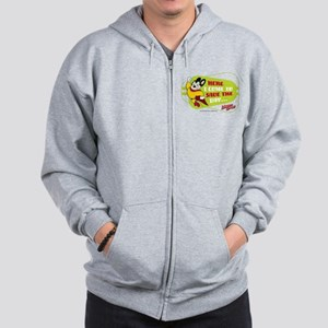 Mighty Mouse: Save The Day Zip Hoodie