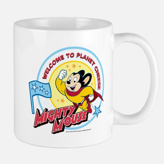 Mighty Mouse: Planet Cheese Mug