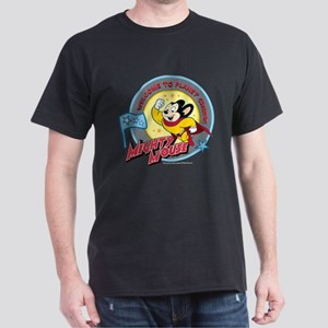 Mighty Mouse: Planet Cheese Dark T-Shirt