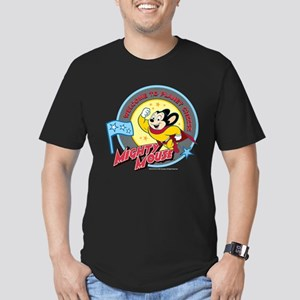 Mighty Mouse: Planet C Men's Fitted T-Shirt (dark)