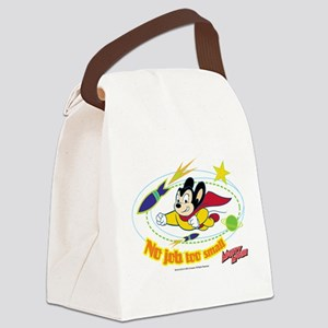 Mighty Mouse: No Job Too Small Canvas Lunch Bag