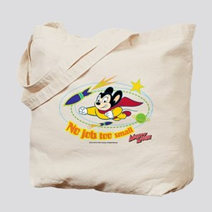 Mighty Mouse: No Job Too Small Tote Bag