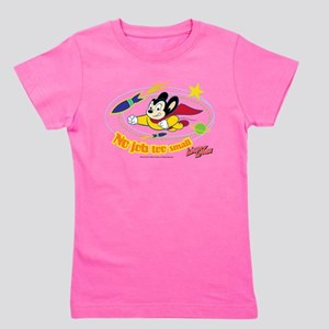 Mighty Mouse: No Job Too Small Girl's Tee