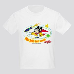 Mighty Mouse: No Job Too Small Kids Light T-Shirt