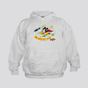 Mighty Mouse: No Job Too Small Kids Hoodie