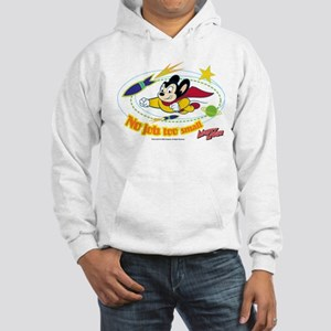 Mighty Mouse: No Job Too Small Hooded Sweatshirt