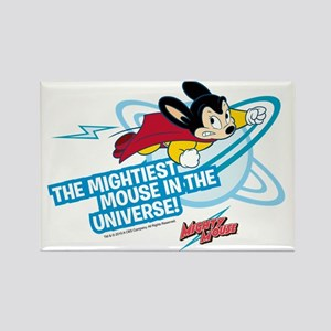 The Mightiest Mouse In The Univer Rectangle Magnet