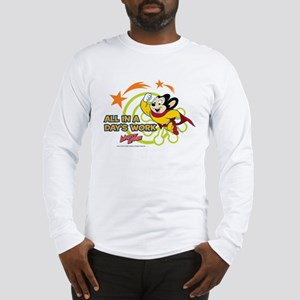Mighty Mouse: All In A Days Wo Long Sleeve T-Shirt