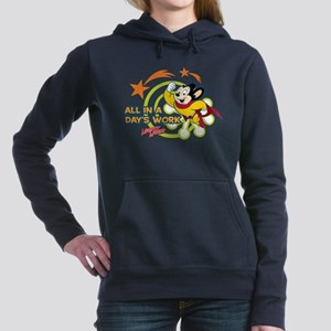Mighty Mouse: All In A D Women's Hooded Sweatshirt