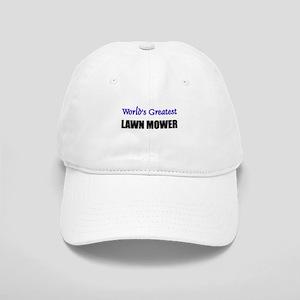 Worlds Greatest LAWN MOWER Cap