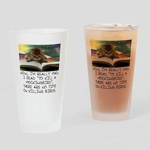 CAT - TO KILL A MOCKINGBIRD Drinking Glass
