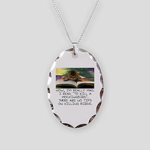 CAT - TO KILL A MOCKINGBIRD Necklace Oval Charm
