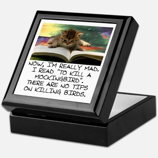 CAT - TO KILL A MOCKINGBIRD Keepsake Box