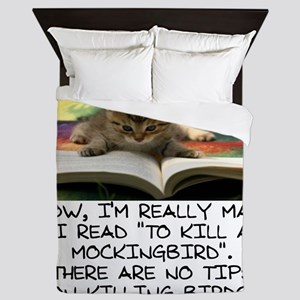 CAT - TO KILL A MOCKINGBIRD Queen Duvet