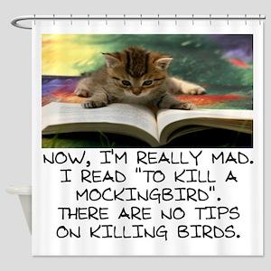 CAT - TO KILL A MOCKINGBIRD Shower Curtain