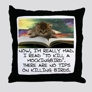 CAT - TO KILL A MOCKINGBIRD Throw Pillow