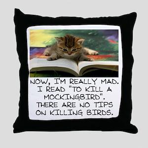 CAT - TO KILL A MOCKINGBIRD Throw Pillow