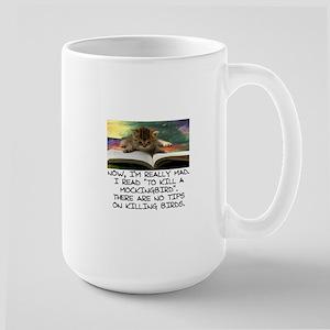CAT - TO KILL A MOCKINGBIRD Large Mug