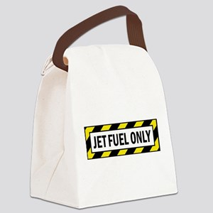 Jet Fuel Only Canvas Lunch Bag